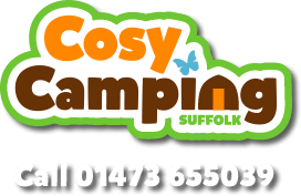 Cosy Camping Suffolk Logo - Pods, Tent Pitches in Suffolk