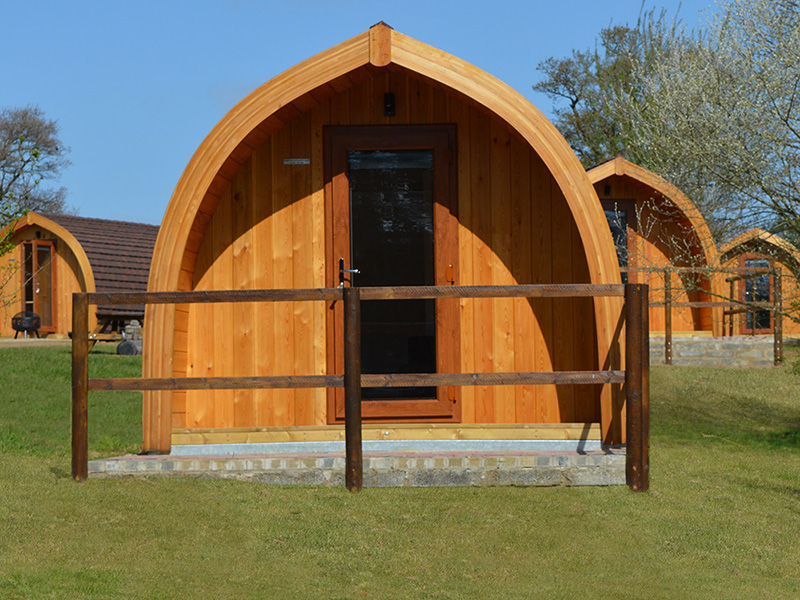 Our Camping Pods let you enjoy the outdoor experience in comfort