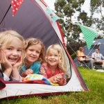 Camping tent pitches in suffolk